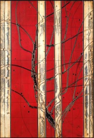 Aspenized 17 acrylic on panel