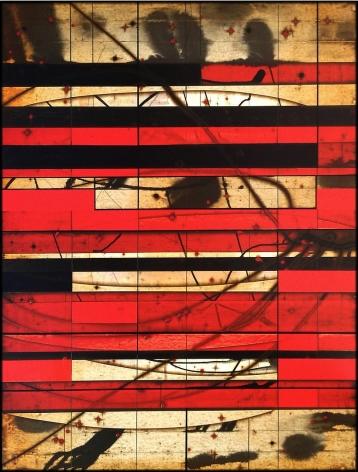 Grill 11 acrylic on panel