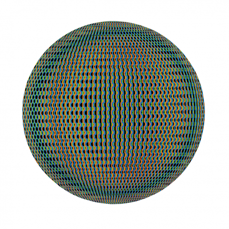 Eigenstate acrylic on panel