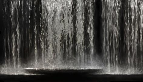 Flow incised painted aluminum