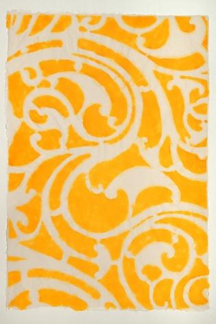 Saffron Serpentine Left