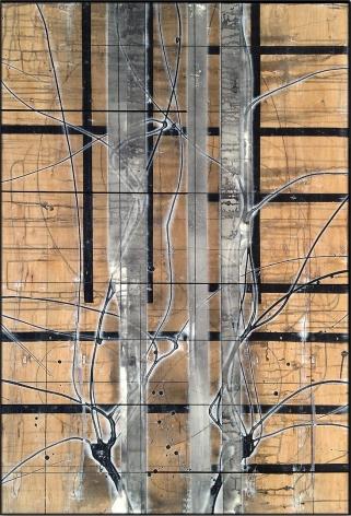 Aspenized 23 acrylic on panel