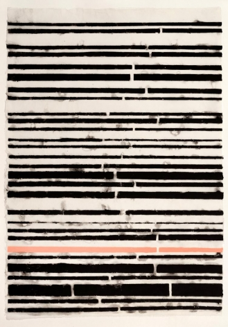 Blacks and Pink Stripe