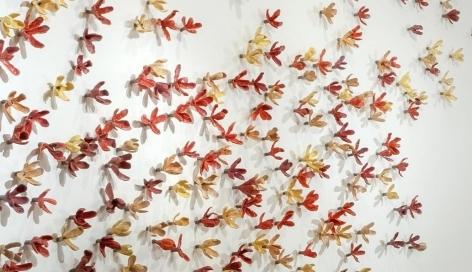 Bradley Sabin Floral Wall I