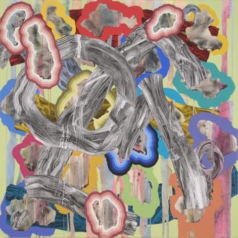 Lost Loop acrylic on canvas