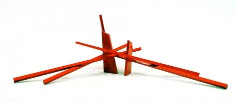 Mediteranee aluminum painted red