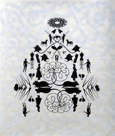 Mandala: Plague screen print