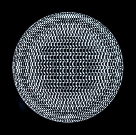 Eigenstate VII UV reactive acrylic on panel