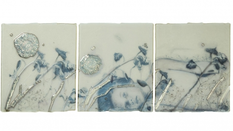 Sibylle Peretti Silver Flowers, 2017