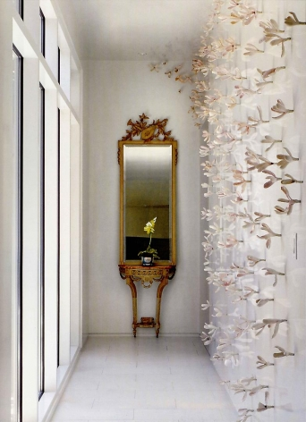 Bradley Sabin Floral Wall Installation