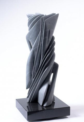 Untitled XII gray bardiglio marble