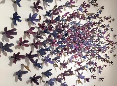 Bradley Sabin Floral Wall III