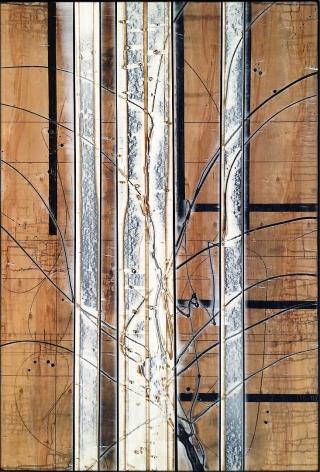Aspenized 19 acrylic on panel