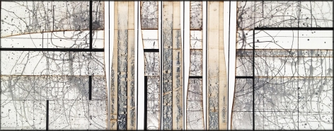 Underland acrylic on panel