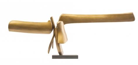 Hounge fabricated bronze