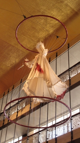 Lucia-Bloody Nightie at New York City Opera, Lincoln Center, NYC.