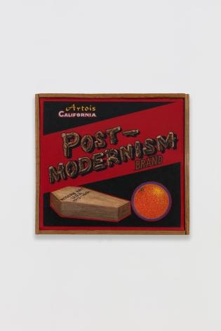 Ben Sakoguchi, Orange Crate Label Series: Post-Modernism Brand, 1981