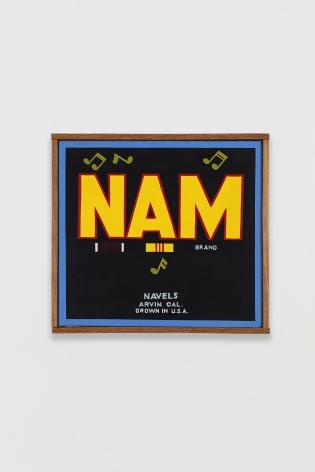 Ben Sakoguchi, Orange Crate Label Series: Nam Brand, c. 1978