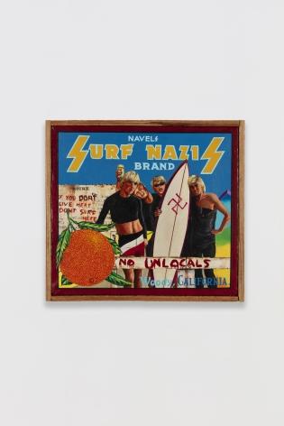 Ben Sakoguchi, Orange Crate Label Series: Surf Nazis Brand, c. 1981