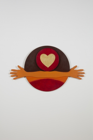 """Gloria Bohanon, Love Notes II: """"I Love You This Much"""", c. 1980"""