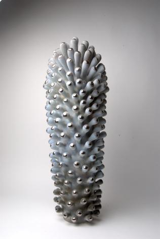 EVA ZETHRAEUS (Swedish, b.1971), Platinum Tipped Green Plantae, 2018