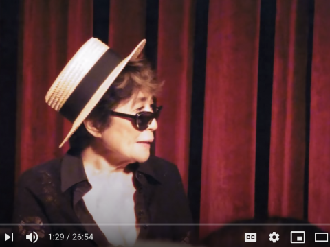 An Evening with Yoko Ono and Alexandra Munroe