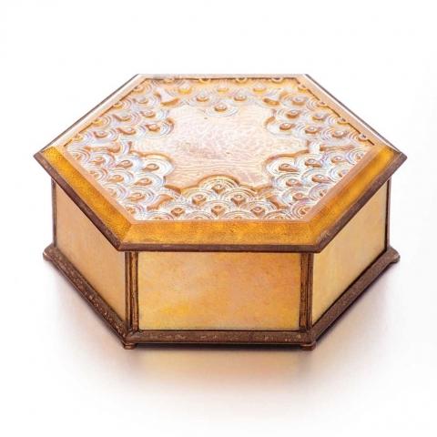 Favrile Glass Box