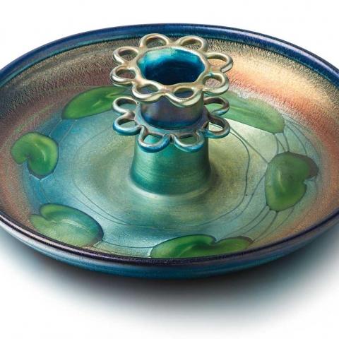 Favrile Glass Centerpiece Bowl