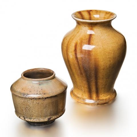 Tiffany Glazed Favrile Pottery