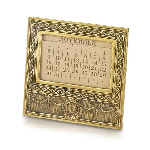 Adam Pattern Calendar Frame