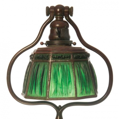 Linenfold Table Lamp