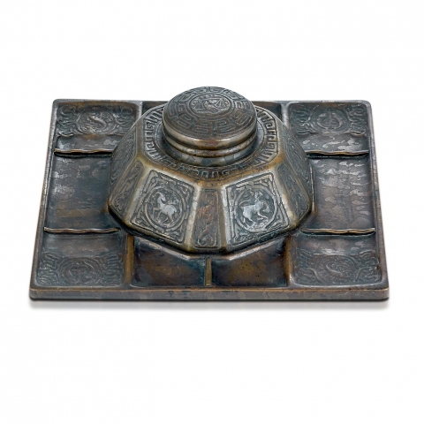 Zodiac Tray with Inkstand