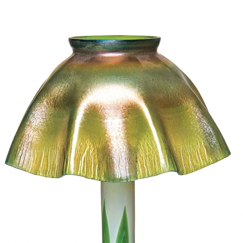 Favrile Candle Lamp