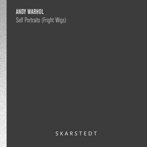 Andy Warhol Fright Wigs Skarstedt Publication Book Cover