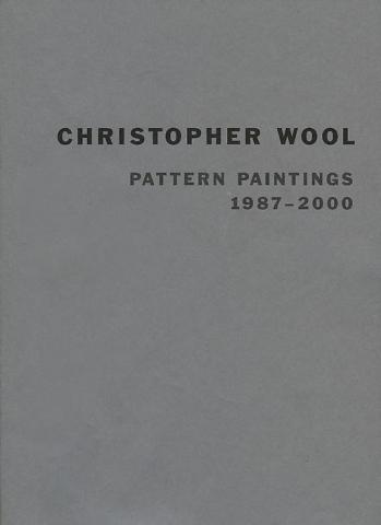 Wool Pattern Paintings Skarstedt Publication Book Cover