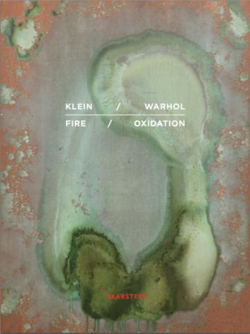 Yves Klein Andy Warhol Skarstedt Publication Book Cover