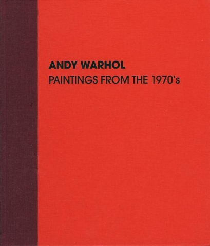 Warhol 1970s Skarstedt Publication Book Cover