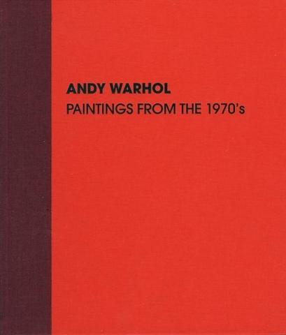 Warhol 1970s Skarstedt Publication Book Cover
