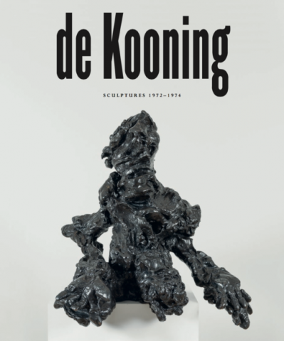 de Kooning Skarstedt Publication Book Cover