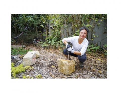 Art Almanac- Fernanda Cardoso to create major series of sandstone sculptures