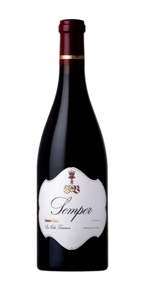 Semper Pinot Noir Bottle