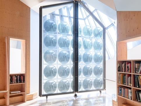 Tuazon glass panel