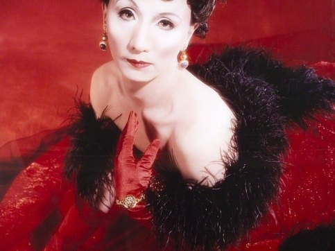 Yasumasa Morimura Self-portrait (Actress) after Vivien Leigh 2