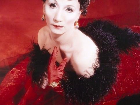 Yasumasa Morimura Self-portrait (Actress) after Vivien Leigh 2
