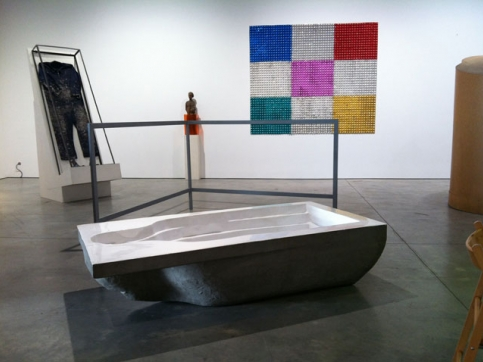 Pistoletto sculptures The Minus Objects