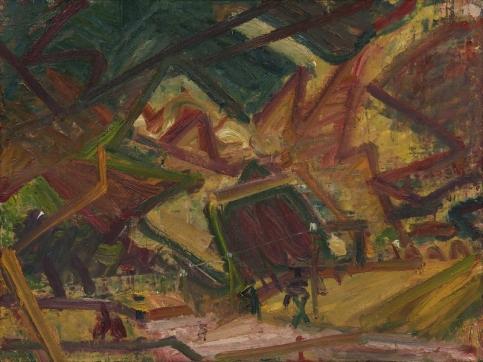 Auerbach landscape painting