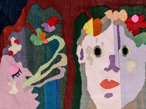 tapestry of 2 faces