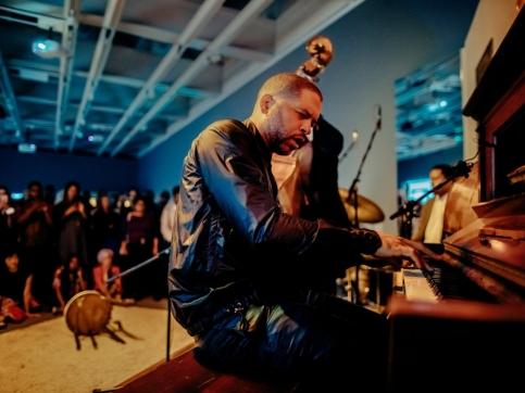 Jason Moran playing piano