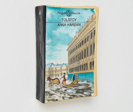 The book Anna Karenin by Tolstoy