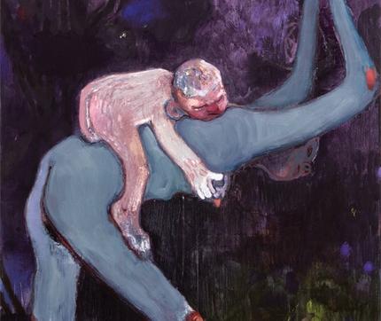 Kantarovsky painting woman and baby
